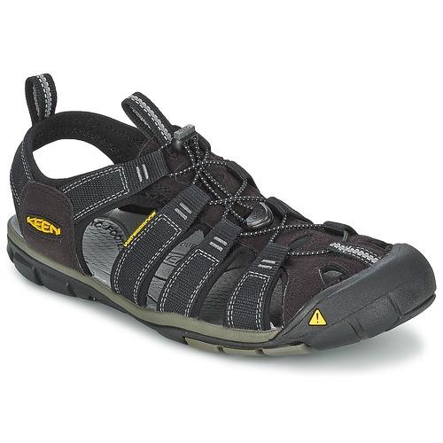 modelo más vendido de la CNX marca Keen MEN CLEARWATER CNX la Negro / Gris - Envío gratis Nueva promoción - Zapatos Sandalias de deporte Hombre 16e616