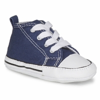 Zapatos Niños Pantuflas para bebé Converse FIRST STAR TOILE Marino