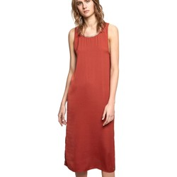 textil Mujer vestidos largos Pepe jeans PL951972 Dress Mujeres Marròn Marròn