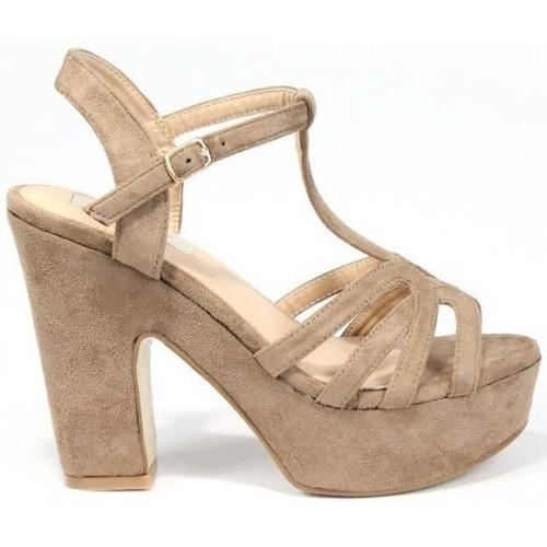 La Push 1037 Marrón - Zapatos Sandalias Mujer