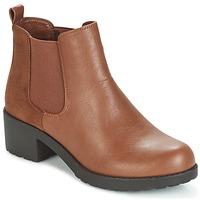 Zapatos Mujer Botines Moony Mood GLOVILA Camel