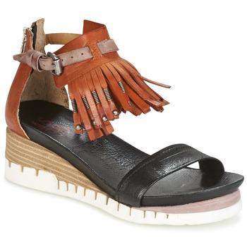 Zapatos Mujer Sandalias Airstep / A.S.98 YVES Marrón / Negro