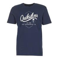 textil Hombre camisetas manga corta Quiksilver CLATESEATALES Marino