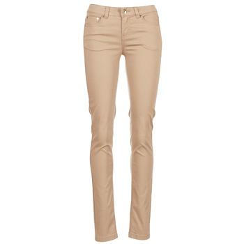 textil Mujer pantalones con 5 bolsillos Les P'tites Bombes BEMBRELA Beige