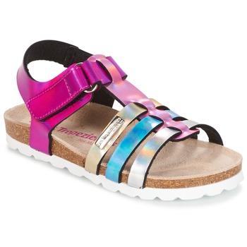 Zapatos Niña Sandalias Les Tropéziennes par M Belarbi POLINA Rosa / Azul / Plata