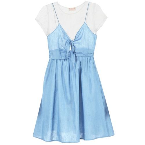 textil Mujer vestidos cortos Moony Mood GLAM Azul