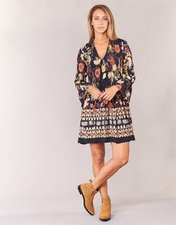 textil Mujer vestidos cortos Derhy DEGUSTATION Negro / Multicolor