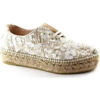 Zapatos Mujer Alpargatas Espadrilles ESP-E17-EDO-CRU Beige