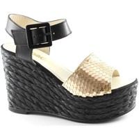 Zapatos Mujer Sandalias Espadrilles ESP-E17-FACE-SQUA Oro