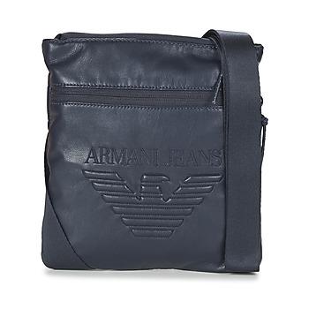 Bolsos Hombre Bolso pequeño / Cartera Armani jeans GIBOU Marino