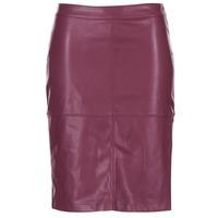 textil Mujer Faldas Vila VIPEN Burdeo