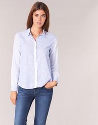 textil Mujer camisas Pepe jeans CRIS Azul