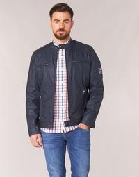 textil Hombre cazadoras Pepe jeans RACER Marino