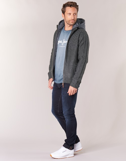 Pepe Gris Jeans Textil Cazadoras Hombre Roger 5j4RAL