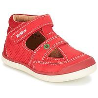 Zapatos Niño Sandalias Kickers GOODSPEED Rojo