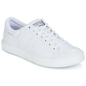 Zapatos Hombre Zapatillas bajas Jack & Jones MERVIN Blanco