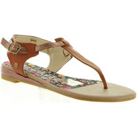 Zapatos Mujer Sandalias Lois Jeans 85173 Marr?n