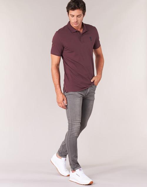 Jackamp; Gris Jones Liam Slim Textil Vaqueros Hombre kOPXiZu