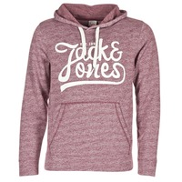 textil Hombre sudaderas Jack & Jones PANTHER ORIGINALS Burdeo