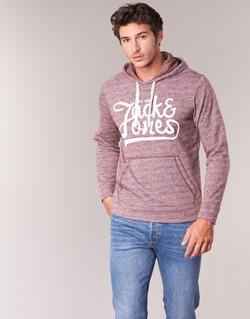 textil Hombre sudaderas Jack & Jones PANTHER ORIGINALS Burdeo