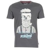 textil Hombre camisetas manga corta Jack & Jones CRIPTIC ORIGINALS Gris