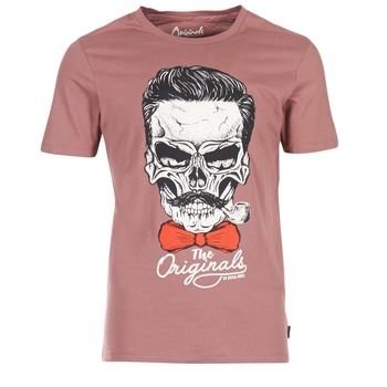 textil Hombre camisetas manga corta Jack & Jones CRIPTIC ORIGINALS Rosa