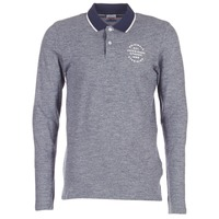 textil Hombre polos manga larga Jack & Jones CYMBAL ORIGINALS Gris