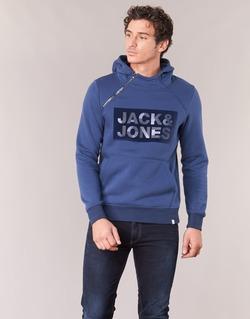 textil Hombre sudaderas Jack & Jones KALVO CORE Azul