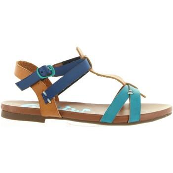 Zapatos Niña Sandalias Cheiw 45677 Azul