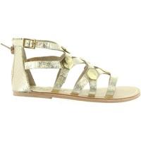 Zapatos Niña Sandalias Cheiw 45632 Gold