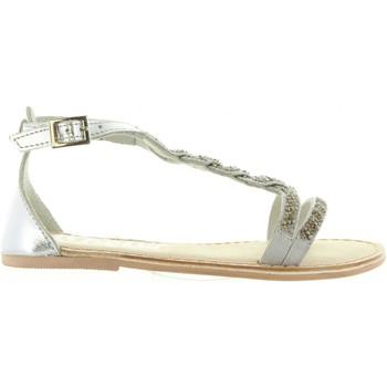Zapatos Niña Sandalias Cheiw 45633 Plateado