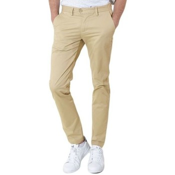 textil Hombre pantalones chinos Kebello Chino beige