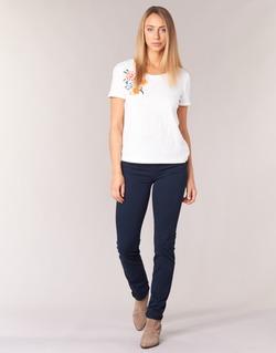 textil Mujer pantalones con 5 bolsillos Cimarron NOUFLORE Marino
