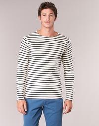 textil Hombre Camisetas manga larga Armor Lux GELGA Blanco / Marino