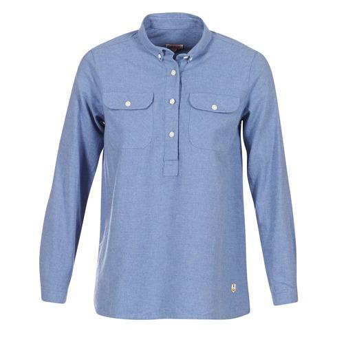 Armor Lux GRICHA Azul - Envío gratis | ! - textil camisas Mujer