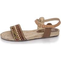 Zapatos Mujer Sandalias Mtbali Sandalia Alpargata , Mujer -Modelo Artisan Low marrón