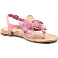Zapatos Mujer Sandalias Mtbali Sandalia Alpargata Mujer - Modelo FLOWER rosa