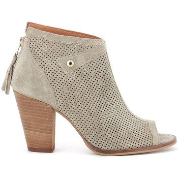 Zapatos Mujer Botines Alpe 3243 Beige