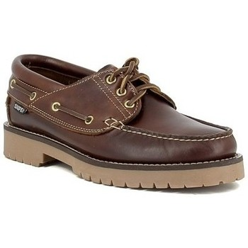 Zapatos Hombre Zapatos náuticos Snipe 21201 Marron
