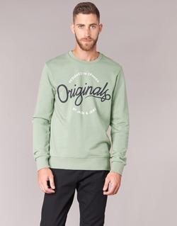 textil Hombre sudaderas Jack & Jones SWEEP ORIGINALS Verde