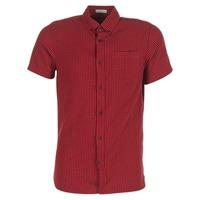 textil Hombre camisas manga corta Jack & Jones JOHAN ORIGINALS Rojo
