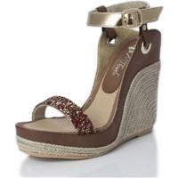 Zapatos Mujer Sandalias Mtbali Sandalia Alpargata con cuña, Mujer - Modelo Nor Diamond rojo