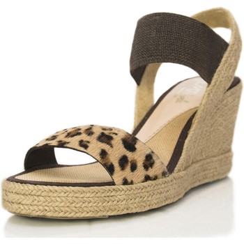 Zapatos Mujer Sandalias Mtbali Sandalia Alpargata con plataforma , Mujer - Modelo Seychelles marrón