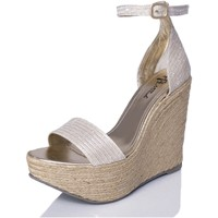 Zapatos Mujer Sandalias Mtbali Sandalia Alpargata con cuña, Mujer - Modelo Bahamas White blanco