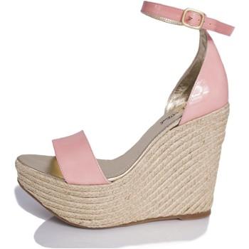 Zapatos Mujer Sandalias Mtbali Sandalia Alpargata con cuña, Mujer - Modelo Bahamas Rose rosa