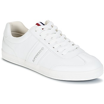 Zapatos Mujer Zapatillas bajas Superdry COURT CLASSIC SLEEK TRAINER Blanco