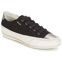 Zapatos Mujer Zapatillas bajas Geox D N.MOENA D - SCAM.STA+VIT.CER Negro