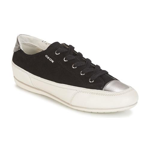 Descuento de la marca Zapatos especiales Geox D N.MOENA D - SCAM.STA+VIT.CER Negro