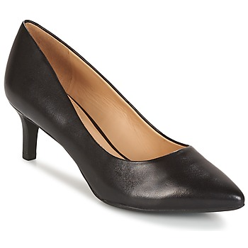 Zapatos Mujer Zapatos de tacón Geox D ELINA C - CAPRA NAPPATA Negro