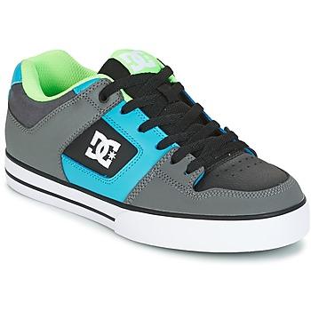 Zapatos Hombre Zapatos de skate DC Shoes PURE Gris / Verde / Azul